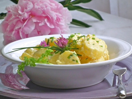 salade de pommes de terre au raifort